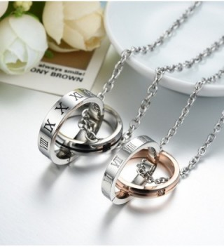 Titanium Couple Pendant Necklace Perfect