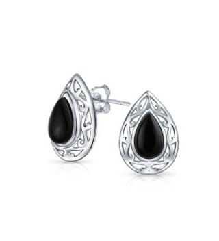Bling Jewelry Teardrop earrings Sterling in Women's Stud Earrings