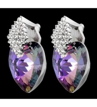 FashionCat Swarovski Crystals Elements Earrings