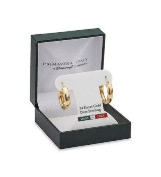 Danecraft Gold Sterling Silver Earring