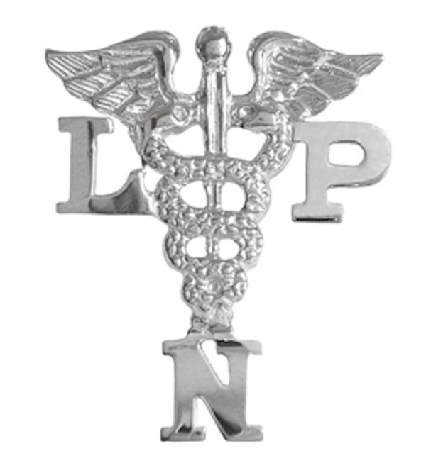 NursingPin - Licensed Practical Nurse LPN Graduation Nursing Pin in Sterling Silver - C41173YWFND