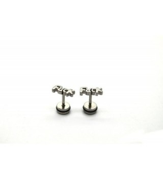 Chelsea Jewelry Collections Fornication screw back in Women's Stud Earrings