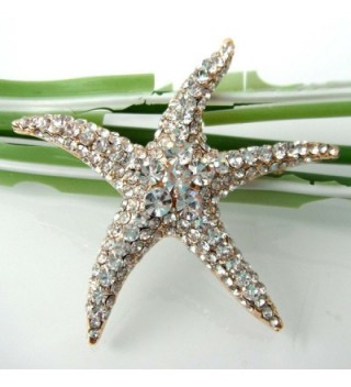 Navachi Plated Crystal Starfish Az7199b