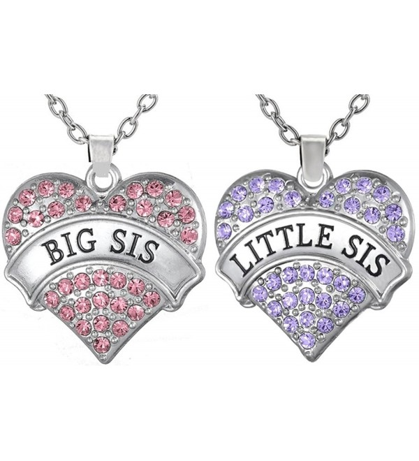 Necklaces Sisters Besties Matching Daughters - CW12NH7AFYW