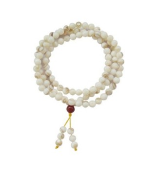 108 Shell Beads Buddhist Prayer Meditation Rosary Prayer Mala - CZ110I5ZYH3