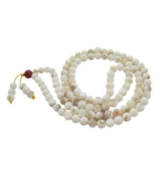 Shell Buddhist Prayer Meditation Rosary