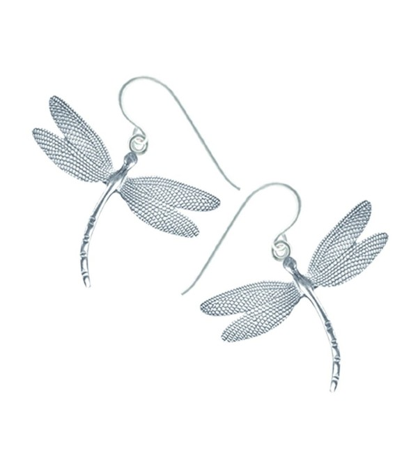 Lovell Designs Dragonfly Drop Earrings - CP11DNRUE37