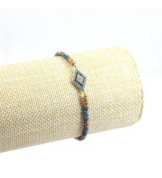 Tom Alice Bracelets Crystal Diamond shaped