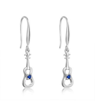 Accessory Sterling Zirconia Fishhook Earrings