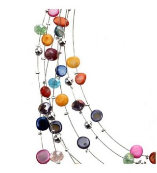 TOOGOO Gorgeous Necklace Earring Set Multicolor in Women's Jewelry Sets