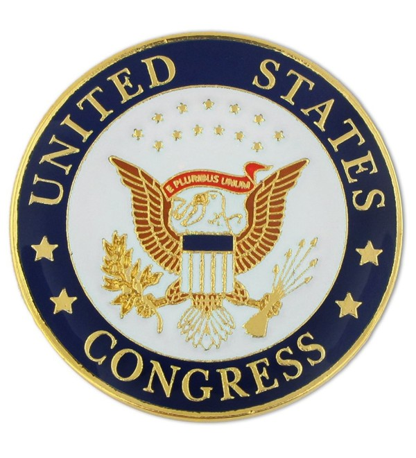 PinMart's United States of America Congress Seal Lapel Pin - CC119PELGBV