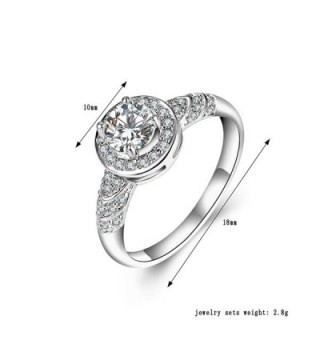 F U Platinum Diamond Engagement Jewelry