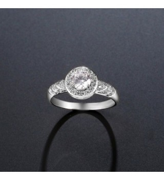 F U Platinum Diamond Engagement Jewelry in Women's Wedding & Engagement Rings