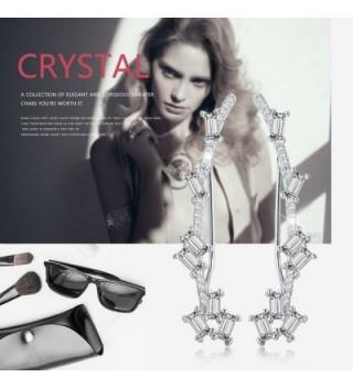 Mevecco Crawler Climber Earrings Jewelry 01 Silver in Women's Cuffs & Wraps Earrings