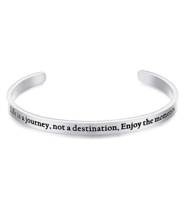 Bracelet destination Inspirational Christmas Thanksgiving - Silver - CI1805SRNWR