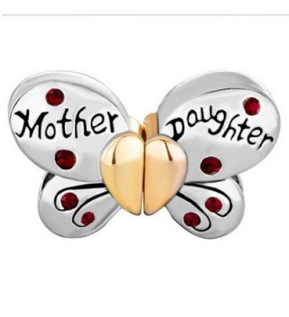 Daughter Charms Separable Butterfly Birthstone in Women's Charms & Charm Bracelets