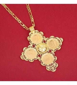 Ethiopian Pendant Gold Fashion Jewelry