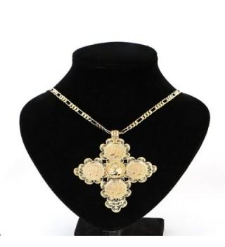 Ethiopian Pendant Gold Fashion Jewelry in Women's Jewelry Sets