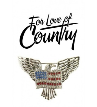 Love Country American Eagle Brooch in Women's Brooches & Pins
