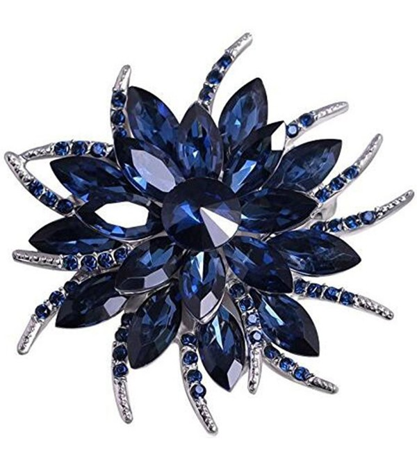 Bai You Mei Fashion Rhinestone - Navy Blue - CX183W3YA9K