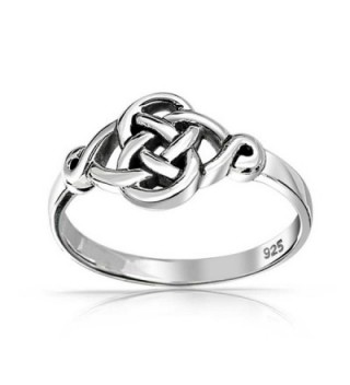 Irish Celtic Love Sterling Silver