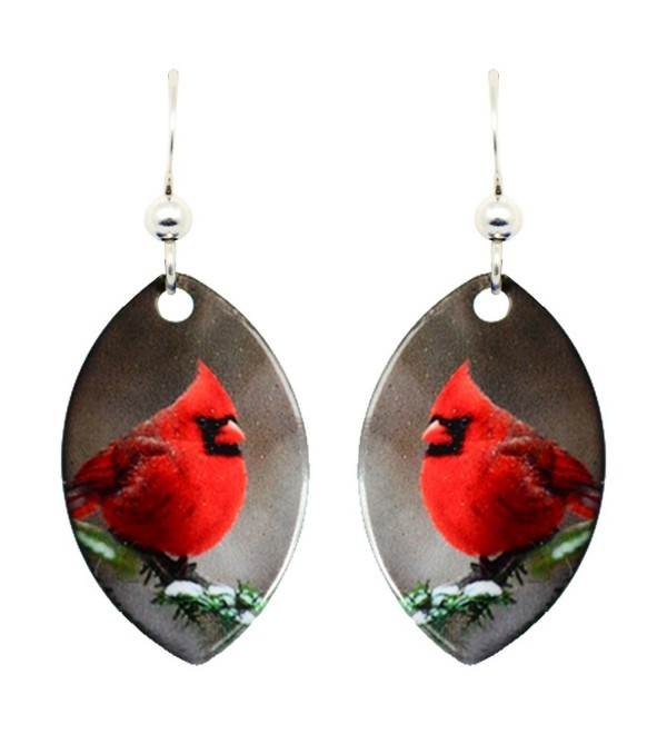 d'ears Cardinal Earrings 1438 - CH188GN93XY