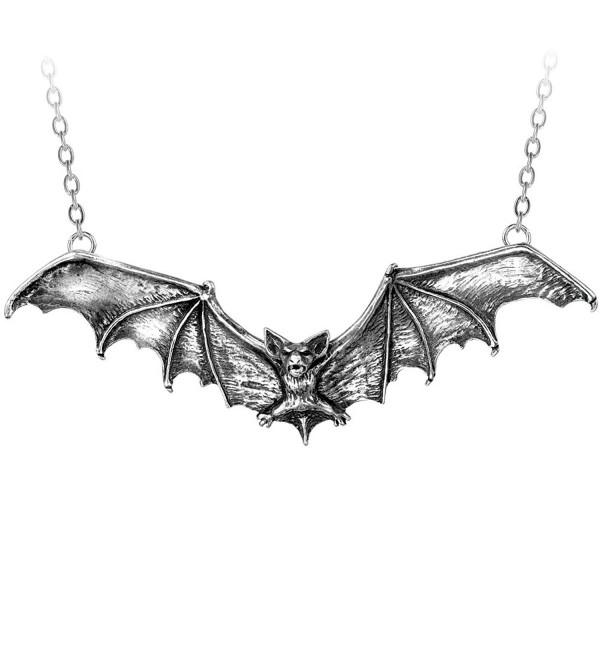Gothic Bat Pendant by Alchemy Gothic- England - CW112D8NEY3