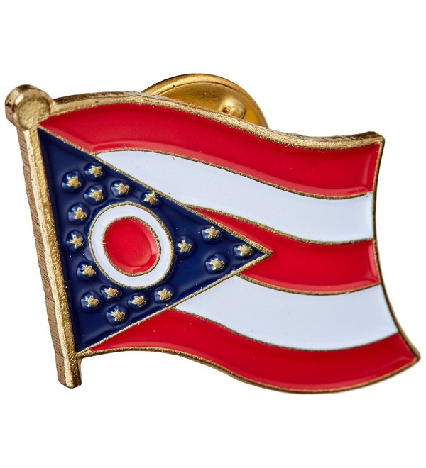 US Flag Store Ohio Flag Lapel Pin - CQ1125DBMAD