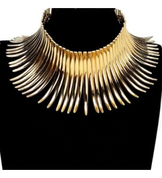 Fashion Sparkling Canine Statement Necklace in Women's Chain Necklaces