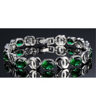 Womens Copper Platinum Plated Bracelet