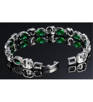 Womens Copper Platinum Plated Bracelet in Women's Tennis Bracelets