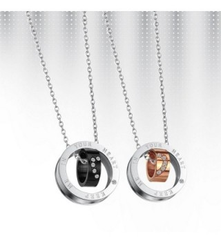 Paris Selection Titanium Matching Necklace