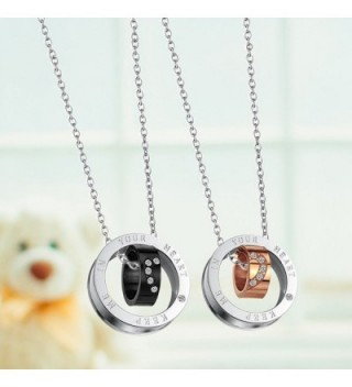 Paris Selection Titanium Matching Necklace in Women's Pendants