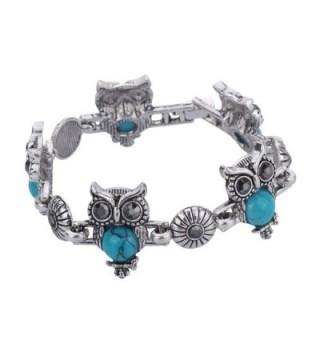 YAZILIND Vintage Necklace Earrings Bracelet