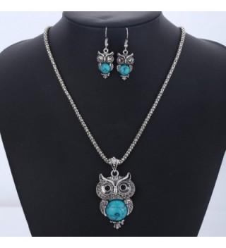 YAZILIND Vintage Necklace Earrings Bracelet in Women's Jewelry Sets