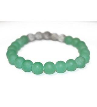 Matte Aventurine Essential Bracelet Jewelry in Women's Stretch Bracelets