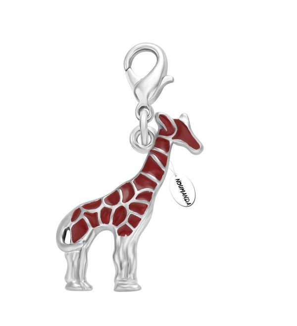 NOUMANDA Mini Cartoon Giraffe Pendant Fit-Fashion Small Pendant-DIY Bracelet Necklace - C012MLAP7AT