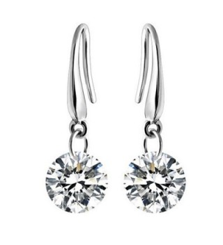 FERVENT LOVE Fashion Jewelry Earrings - White Zircon - CD185LDXDCY