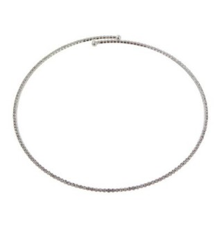 Rosemarie Collections Womens Rhinestone Necklace