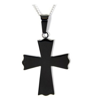 Serenity Prayer Cross Pendant Necklace