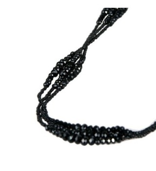 Vintage Midnight Sparkly Necklace Jewelry