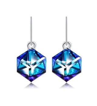 Earrings PLATO Swarovski Crystal Birthday - CD12K0VTX3P