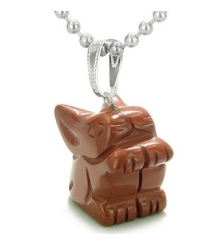 Amulet Rabbit Believe Pendant Necklace