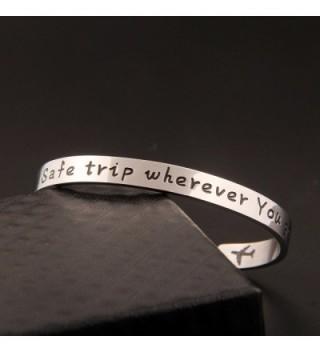 SEIRAA Traveler Bracelet Traveling Attendant in Women's Cuff Bracelets