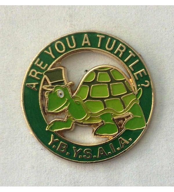 "1"" Turtle Cutout Lapel Pin - CU11DC9UDT1"