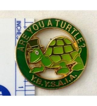 1 Turtle Cutout Lapel Pin