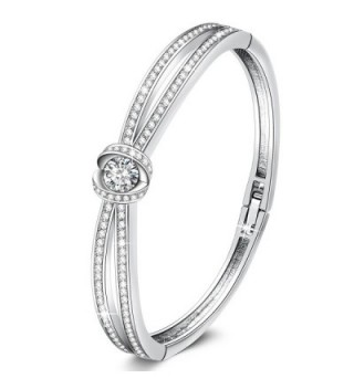 Anniversary California Bracelets Swarovski Crystals - Silver - C2186SZNHCM