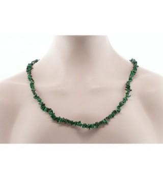 447 00 Carat Malachite Chip Necklace in Women's Pendants