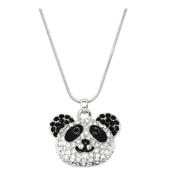 Liavys Panda Pendant Fashionable Necklace - CU12O7ULEBJ