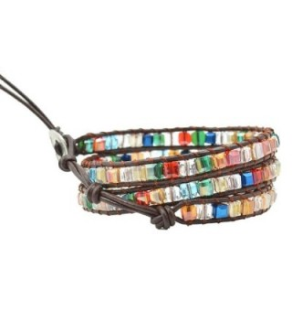 Multicoloured Crystal Bracelets Genuine Bracelet